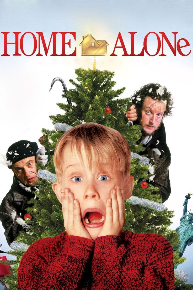 Home Alone - One of my favourite films to watch around Christmas time or really at any time of the year! I don't care how many times i've seen it, I must see it every year!