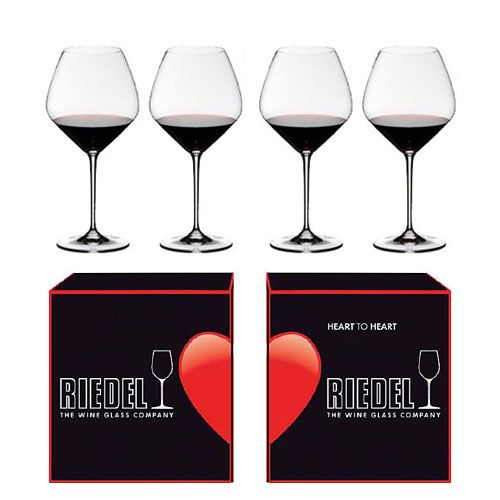 Riedel Pinot Noir Wine Glass 4pc (2 Sets of 2pc)