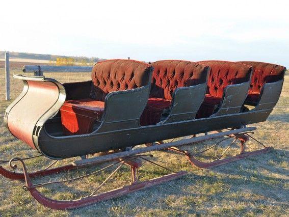 Unique Four Seat Touring Bob Sleigh  for sale at www.hansenwheel.com