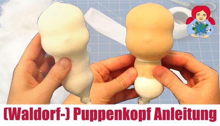 DIY | (Waldorf-) Puppenkopf Videoanleitung | Sami Doll Tutorials