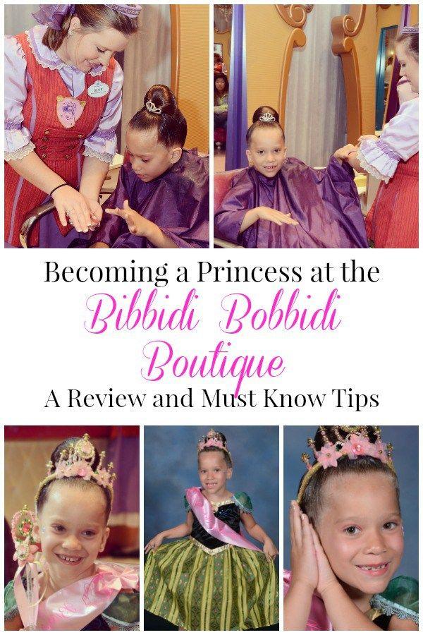 Become A Princess At Bibbidi Bobbidi Boutique In Walt Disney World