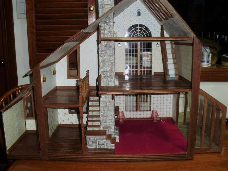 The_Brookwood. Dollhouse IdeasDollhouse FurnitureMiniature HousesDoll ...