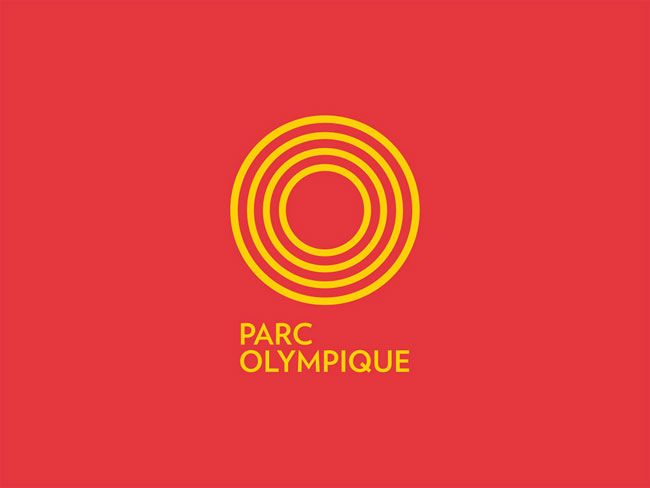 Montréal Olympic Park brand identity Mara Gourd-Mercado of Montréal-based lg2boutique.