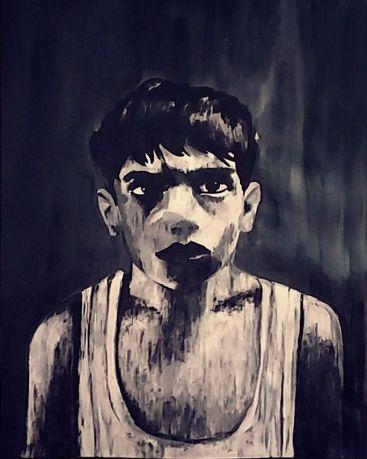 Pa Negre - Pintura de Júlia Lafuerza