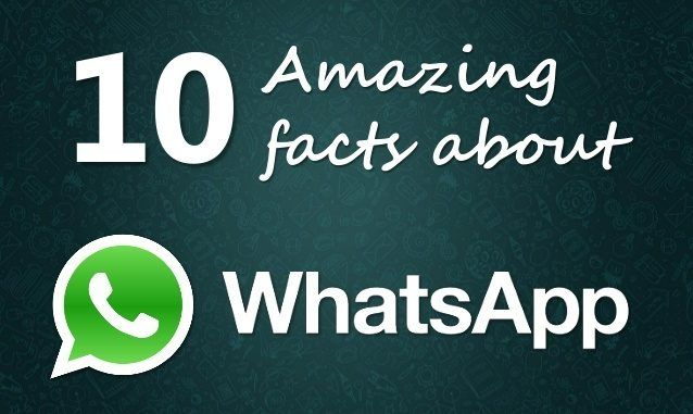 10 Strange But amazing WhatsApp Facts That You were Unaware Of!!