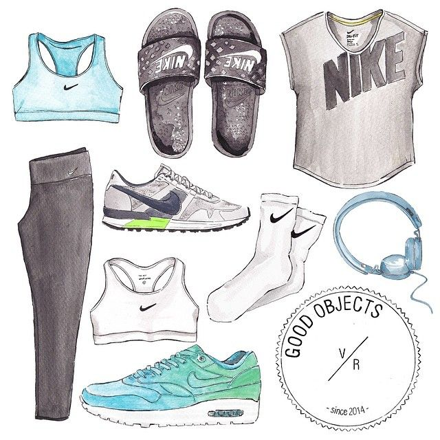 Good objects - Everything nike + music  @nikewomen #nike #sportswear #goodobjects