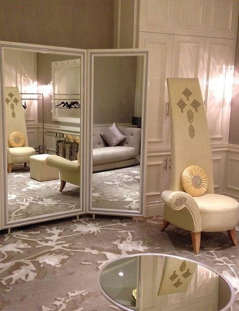 A beautiful Bridal Suite at Hyatt Regency Dubai.