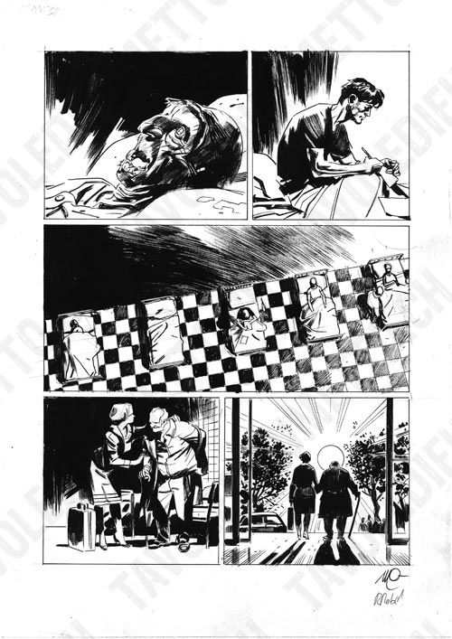 Dylan Dog - Mater Morbi, pag.32 Comic Art