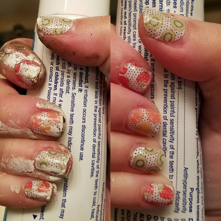 Jamberry Nail wraps really hold up!  Can your manicure do this?