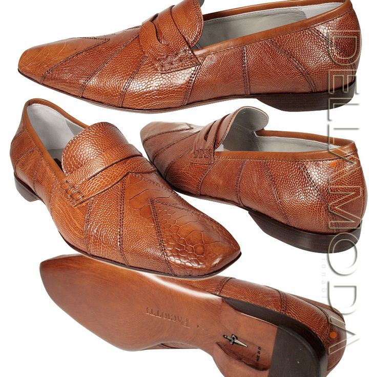 Cesare Paciotti Italian shoes for men Brown Lizard (CPM553)