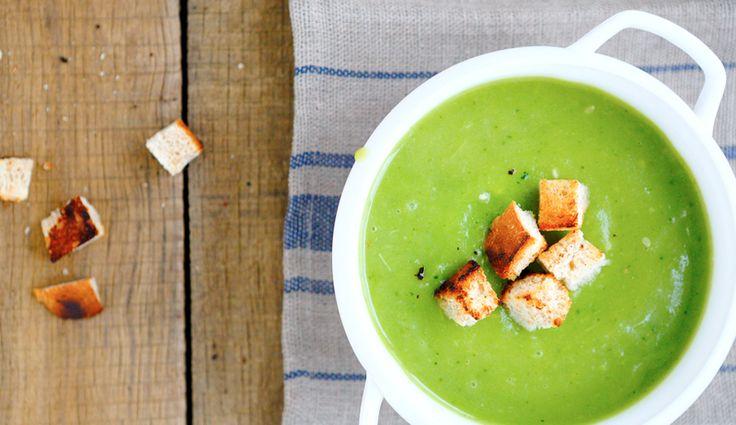 Vegane Brokkoli-Kokos-Suppe