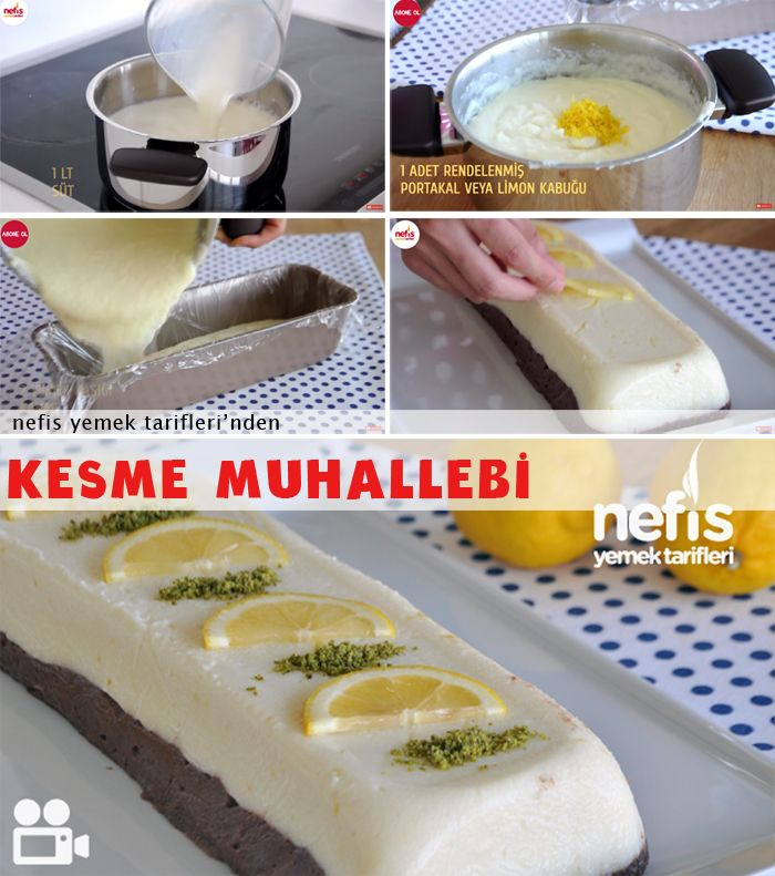 Kesme Muhallebi Tarifi