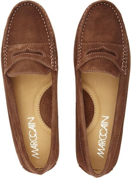 Женская коричневая обувь весна