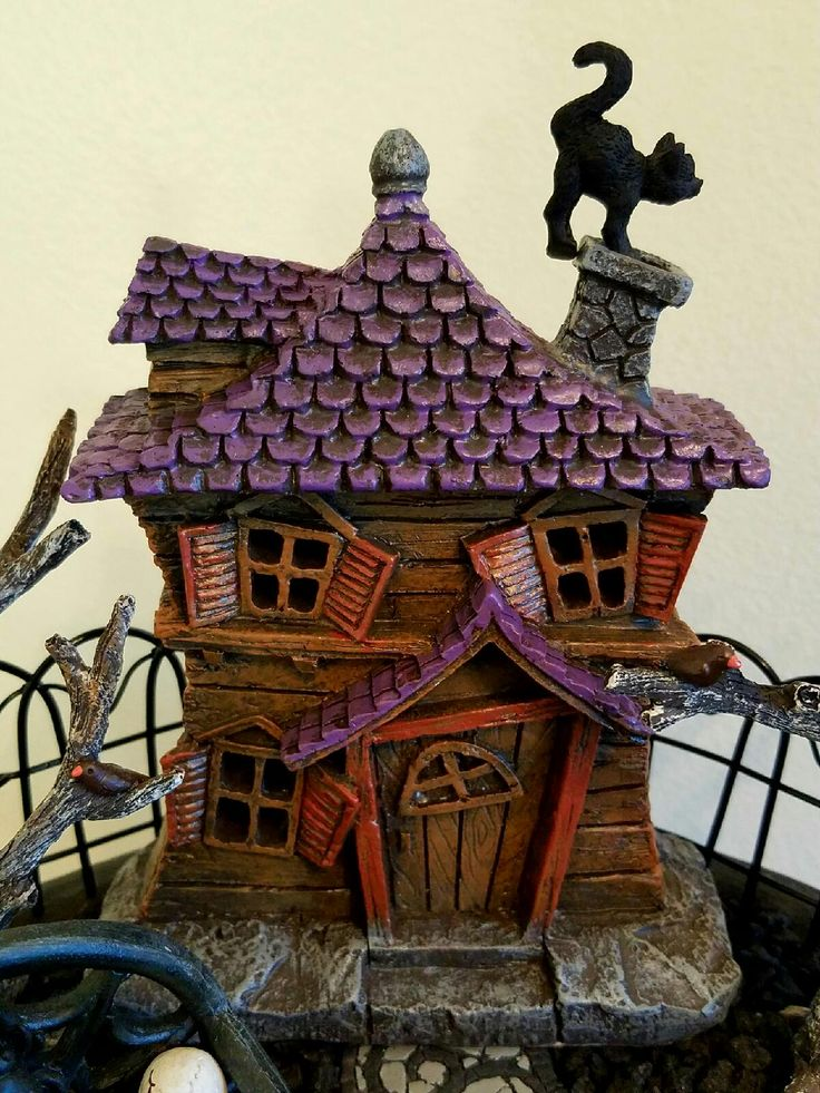 2708 best images about v haunted miniatures v on pinterest haunted houses witch house and. Black Bedroom Furniture Sets. Home Design Ideas