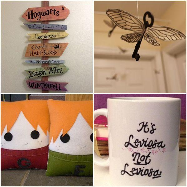 Decorações inspiradas em Harry Potter