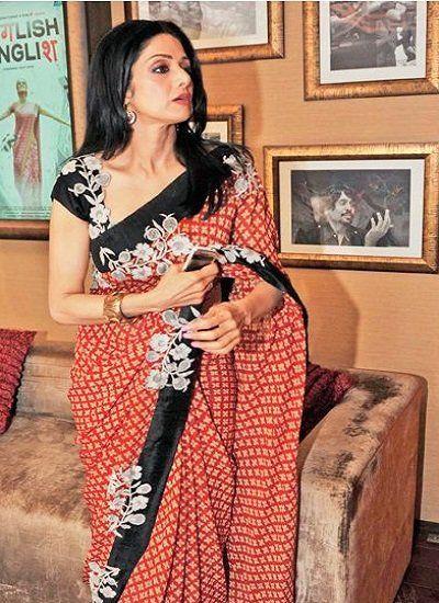 Sridevi...sarees looks so good http://www.facebook.com/pages/Janaki-Sarees/300720266714640