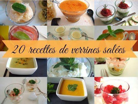 20 recettes de verrines salées # Le Pays des Gourmandises