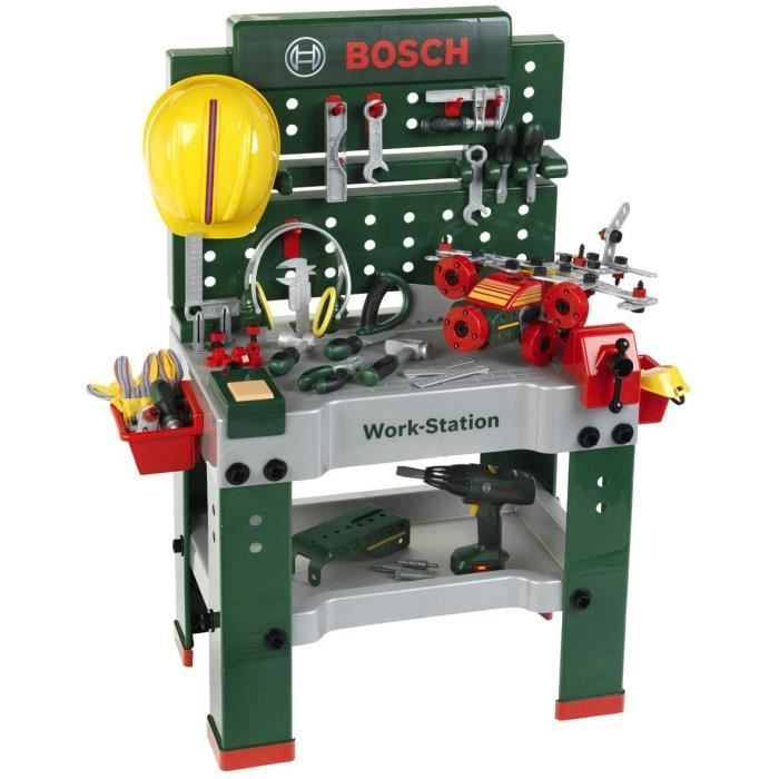 Klein 8485 Jeu D Imitation Bosch Etabli Workstation N 1