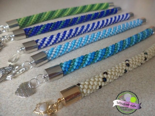 bransoletki na szydełku  crochet bracelets