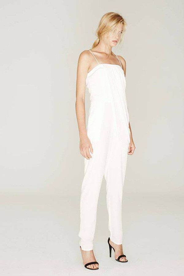 Bless'ed Are The Meek - Jungle Jumpsuit In White