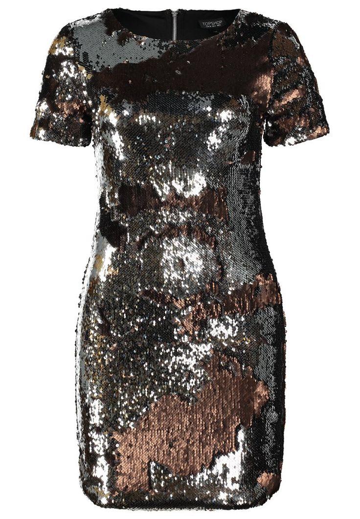 Topshop - Sukienka letnia - bronze