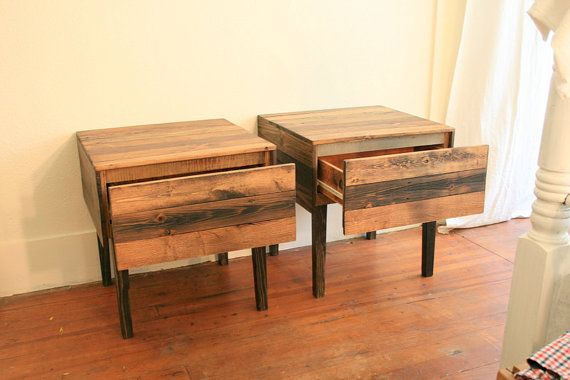Camille Montgomery Custom Salvaged Nightstands 259 Each On Etsy For The Home Pinterest