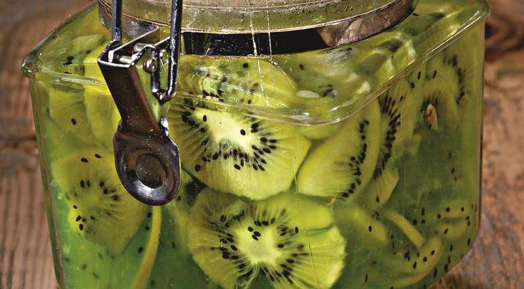Варенье из киви и лимонов