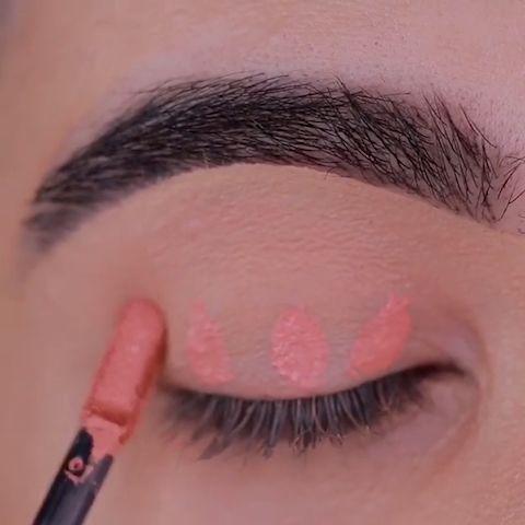peachy brown eye makeup tutorial  amazing eye makeup