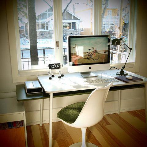 Schreibtisch design apple  Die 25+ besten Imac Schreibtisch Ideen auf Pinterest | Gemeinsame ...