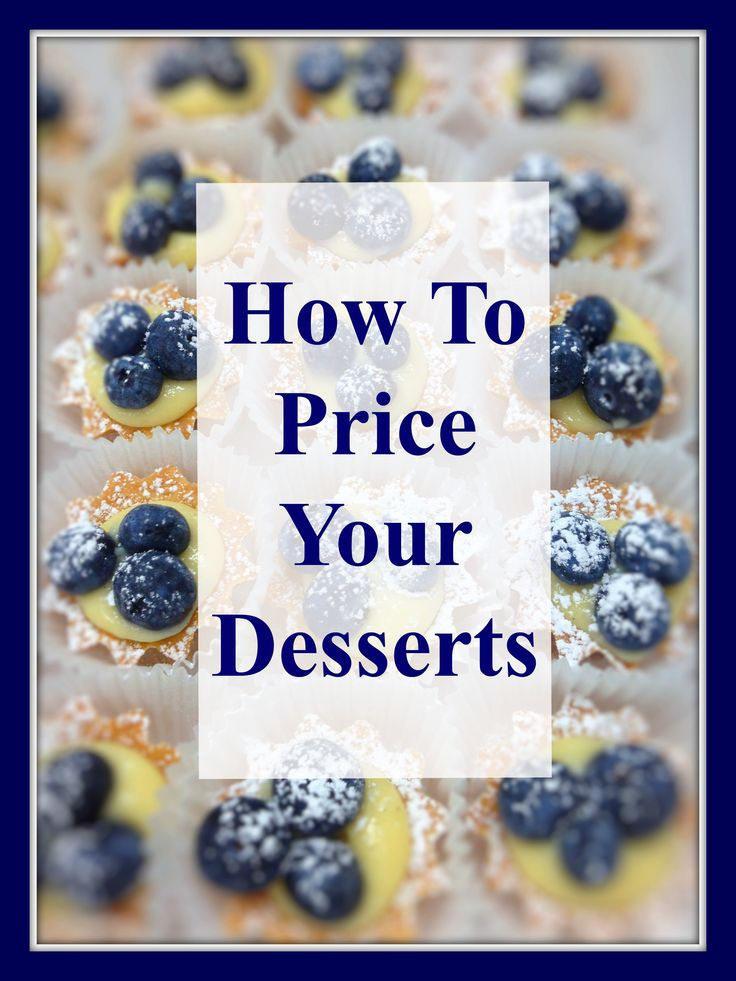 Which pricing strategies should you use for your baked goods? Can you use the costX3 pricing model and make a profit; or should you consider value pricing?