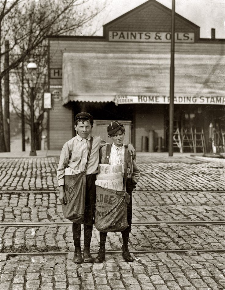 Call Me Rich: St. Louis, May 1910. The boy on the right, nicknamed Turk, said he was going to Texas soon. The investigator found him recently with $1.75 he had just won at craps. The same boys seen here. Photo by Lewis Wickes Hine.