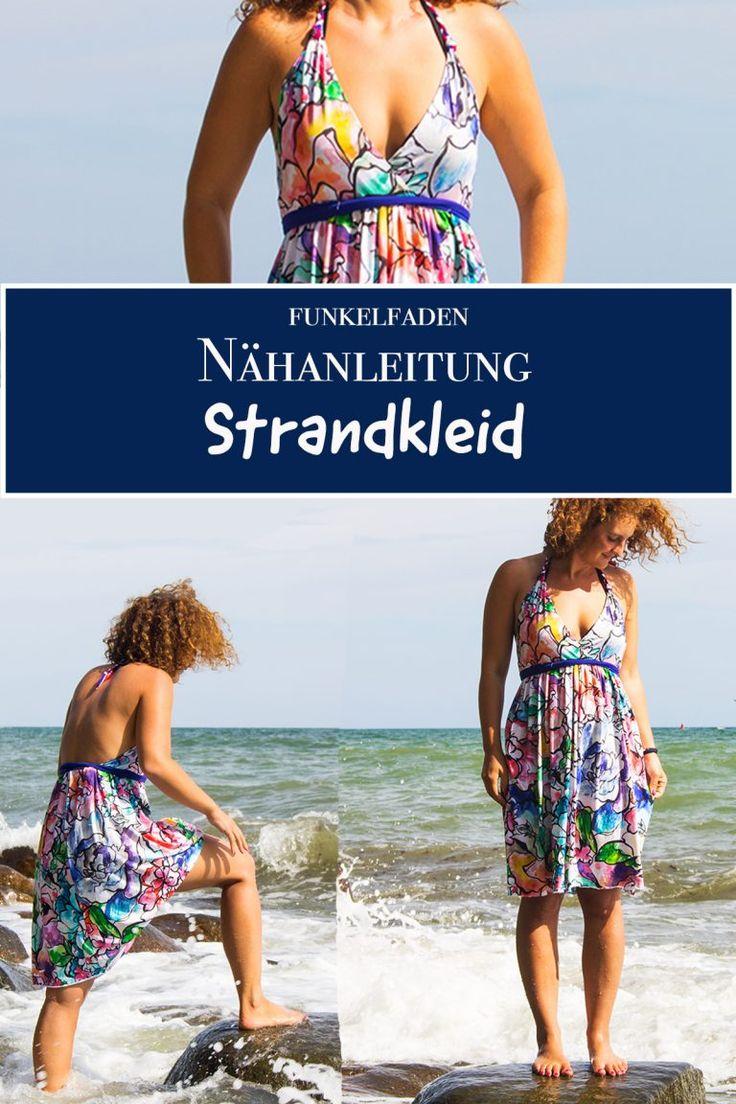Freebook – Einfaches Sommerkleid für den Strand nähen für Erwachsene