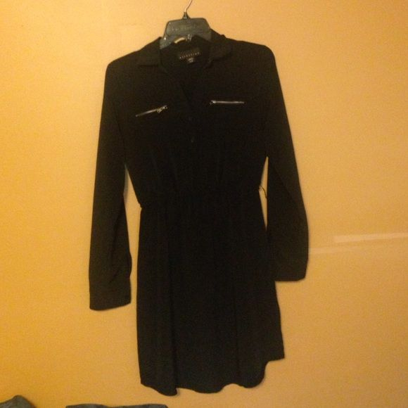 Little black dress XS/S long sleeve or wear it 3/4 sleeve little black dress Attention Dresses Long Sleeve