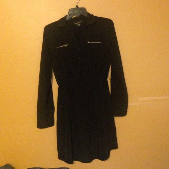 Little black dress XS/S long sleeve or wear it 3/4 sleeve little black dress Attention Dresses Long Sleeve