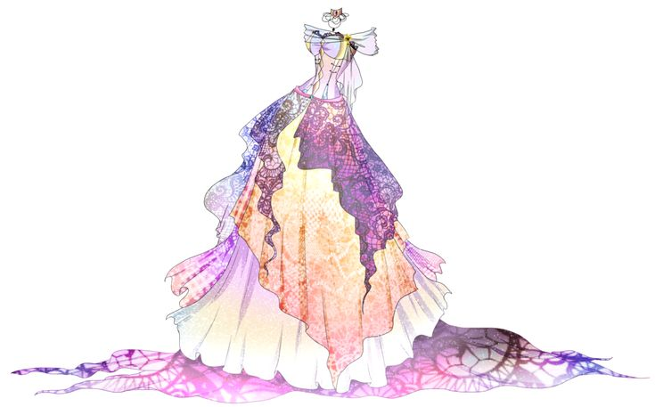 Adoptable Ballgown CLOSED Auction By Springscent