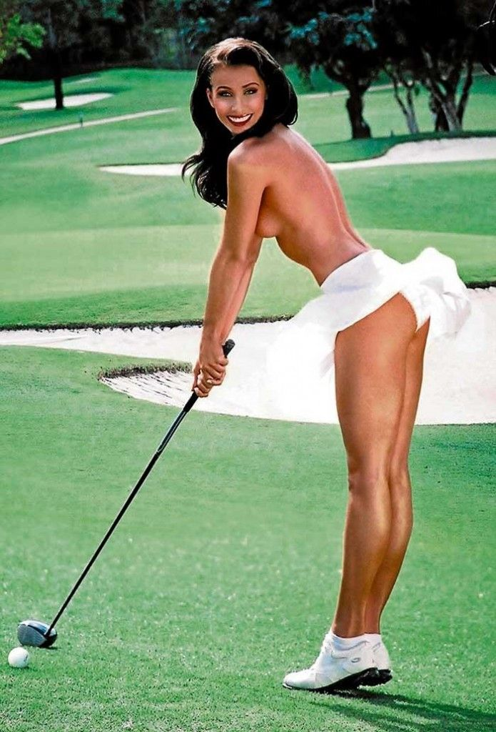 hot golf girl