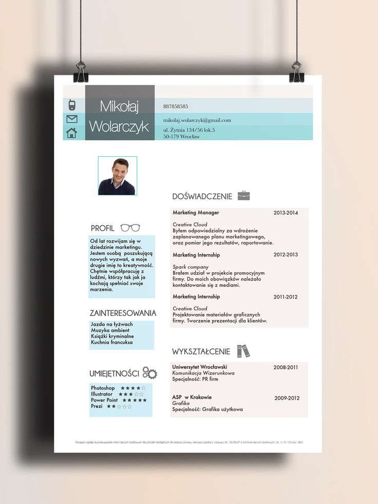 145 best images about creative resume by cvdesign on