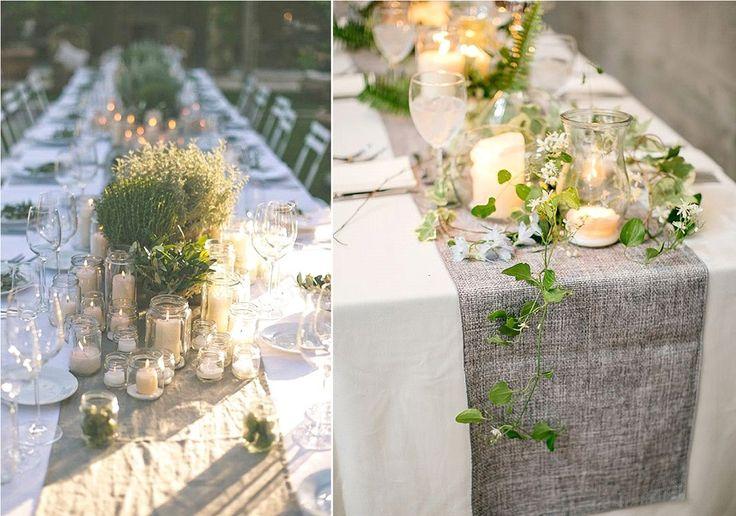 17 meilleures images propos de decoration table sur - Decoration mariage nature chic ...