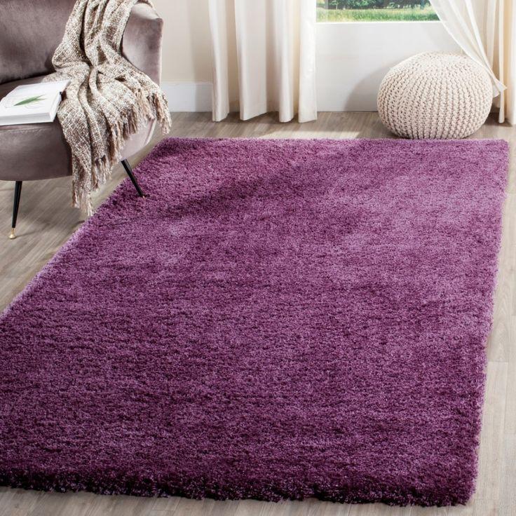 Mercury Row® Slayton Purple Area Rug