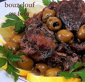 *** Recette de Bouzelouf au olive ***   Un délicieux plat c'est leBouzelouf aux olives   cuit au four mmmm, croyez   moi un vraie dél...