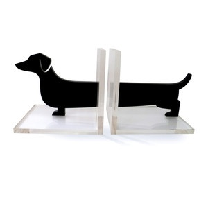 Modern Doxie Bookends Pair now featured on Fab.