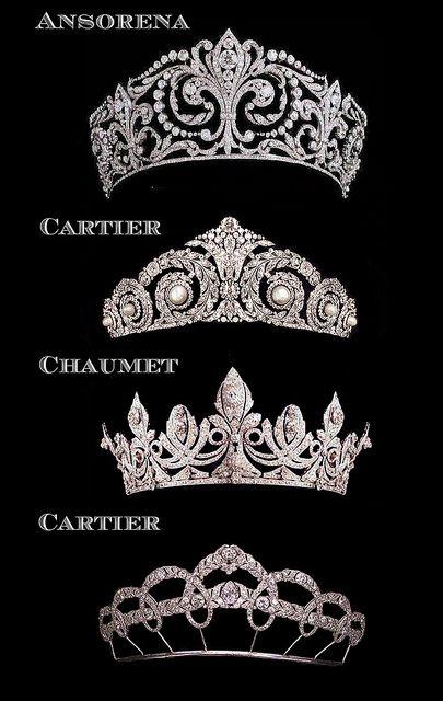 Tiaras de la familia real española                              …