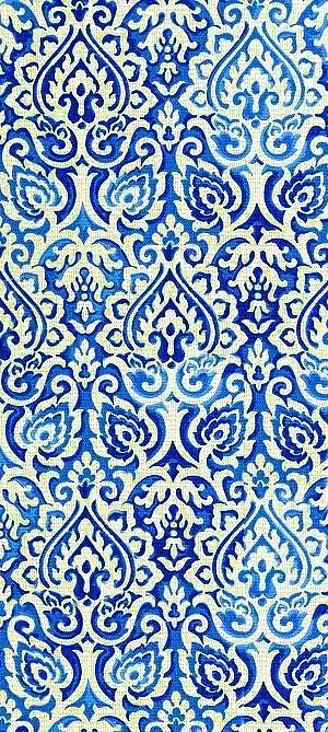 blues pattern, filigree