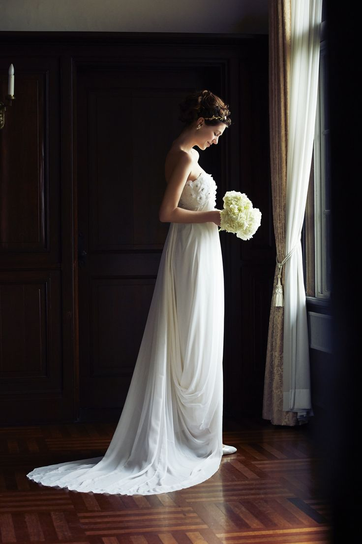 [DRESS:temperly for NOVARESE marina]  weddingdress weddingday white princess
