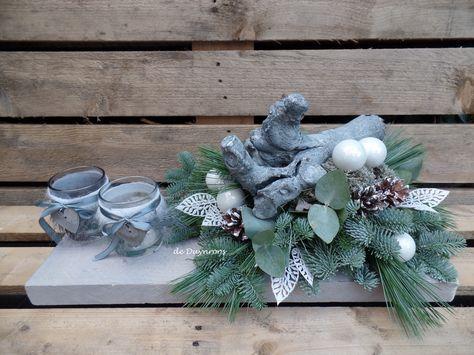 kerst op hout