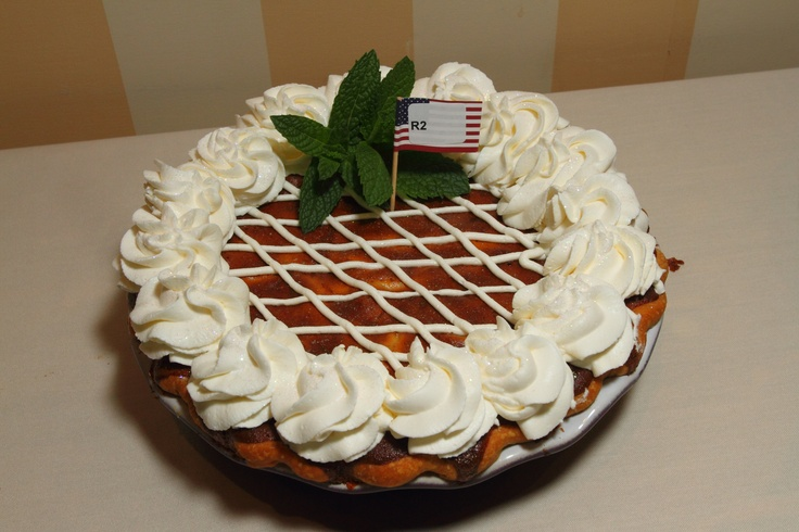 """Francine Bryson winner at nationals , """"White Chocolate Raisin Nut Pie""""- First place winner in the Raisin pie category, Amateur division at the 2012 APC/Crisco National Pie Championships!"""