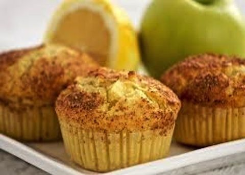 Muffin con mele e noci - La ricetta di Buonissimo
