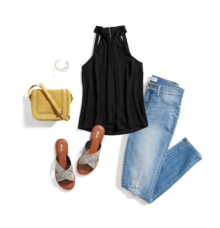 Love the black top and those sandals.  I had a black dress with a similar neckline but only wore it once because I couldn't find another good party to wear it to!