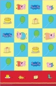 Peppa Pig Party Tablecover
