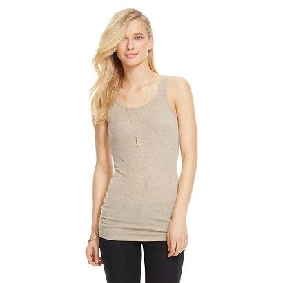 Women's Layering Tank - Oatmeal Heather: